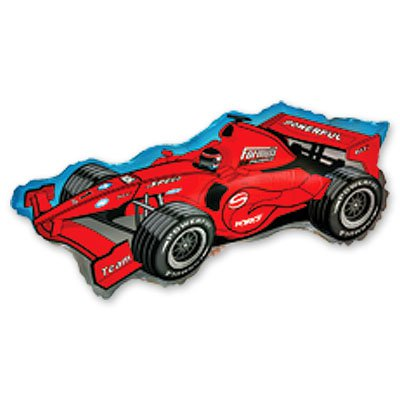 Мини Фигура Машина гоночная красная 1206-0356