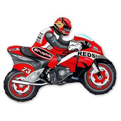 Мини Фигура Мотоциклист красный 1206-0358