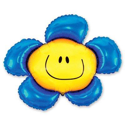 Мини Фигура Цветок синий 1206-0394