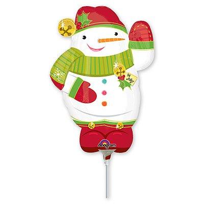Мини Фигура Новый год Снеговик забавный 1206-0422