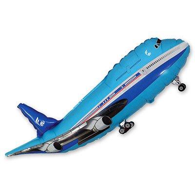 Мини Фигура Самолет синий 1206-0450