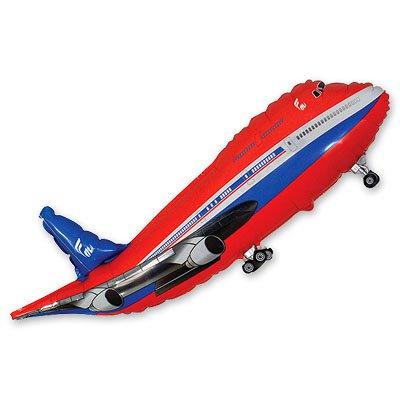 Мини Фигура Самолет красный 1206-0451