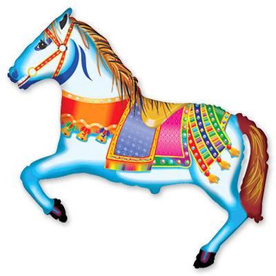 Мини Фигура Лошадь цирковая 1206-0473