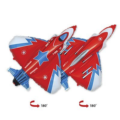 Шар Мини фигура Истребитель красный 1206-0501