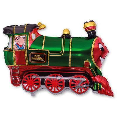 Шар Мини фигура Поезд зеленый 1206-0511