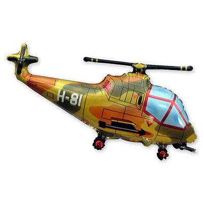 Фигура мини Вертолет милитари 1206-0555