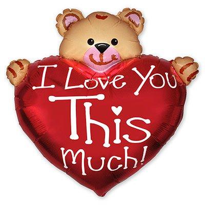 Мини фигура Сердце с мишкой ILY/FM 1206-0590