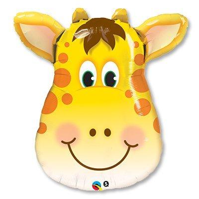 Шар мини-фигура Жираф голова 1206-0598