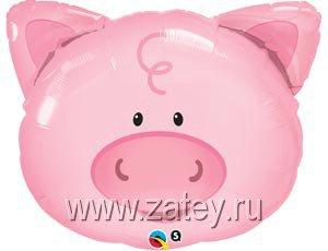 П МИНИ ФИГУРА Поросенок голова 1206-0603