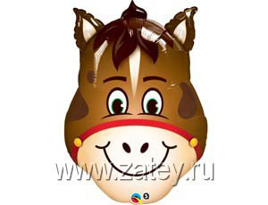 П МИНИ ФИГУРА Лошадь голова 1206-0604