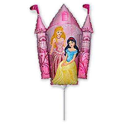 Мини фигура Принцессы и Замок розовый 1206-0625