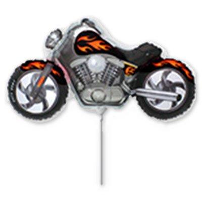 Фигура мини Мотоцикл черный 1206-0626