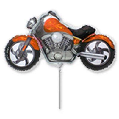 Фигура мини Мотоцикл оранжевый 1206-0627