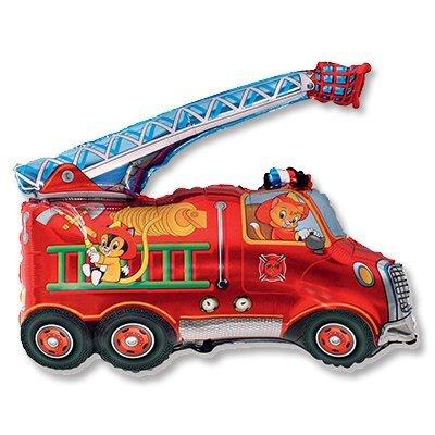 Мини Фигура Машина пожарная 1206-0718