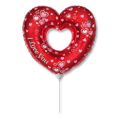 Мини фигура ILY Сердце красное/FM 1206-0730