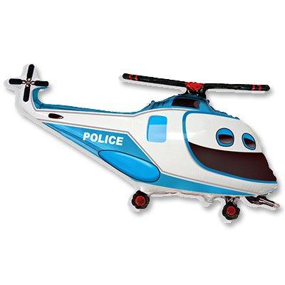 Мини Фигура Вертолет Полиция 1206-0732