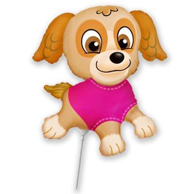 Мини-фигура Щенок в розовом Скай 1206-0781