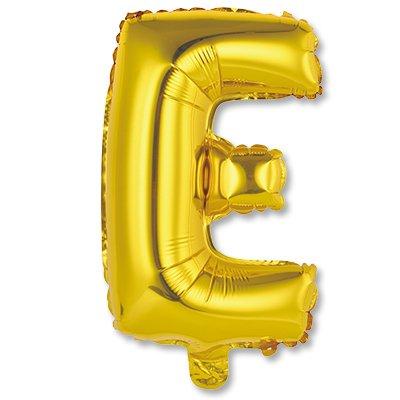 """Мини буква Е 14"""" Gold 1206-0809"""