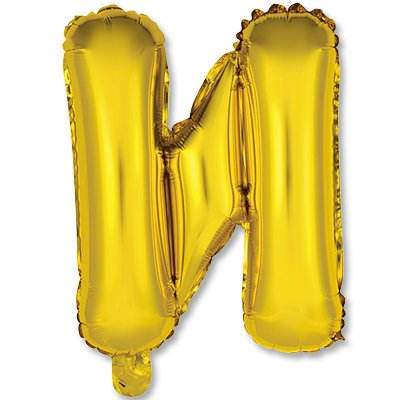 """Мини буква И 14"""" Gold 1206-0812"""