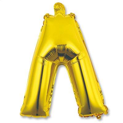 """Мини буква Л 14"""" Gold 1206-0814"""