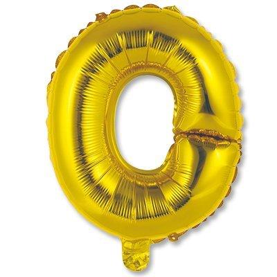 """Мини буква О 14"""" Gold 1206-0817"""