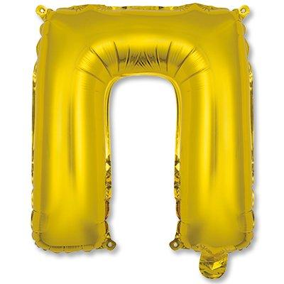 """Мини буква П 14"""" Gold 1206-0818"""