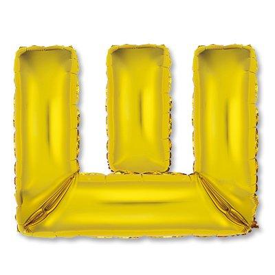 """Мини буква Ш 14"""" Gold 1206-0825"""