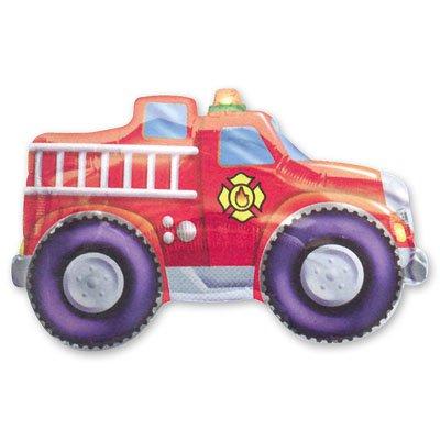 Шар фигура Автомобиль пожарный 1207-0028