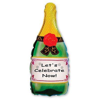 Фольгированный шар шампанское 1207-0399