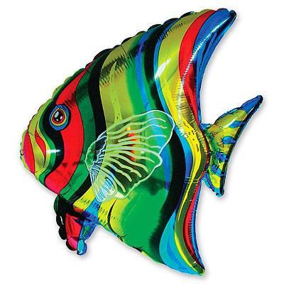 Шар фигура Рыба тропическая 1207-0421