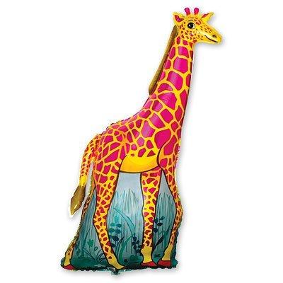 Шар фигура Жираф оранжевый 1207-0459