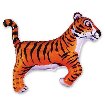Шар фигура Тигр черные полоски 1207-0491