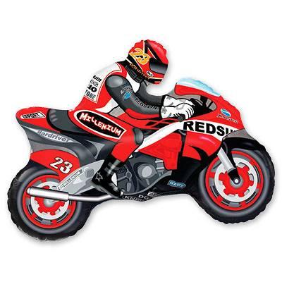 Фольгированный шар мотоцикл 1207-0830