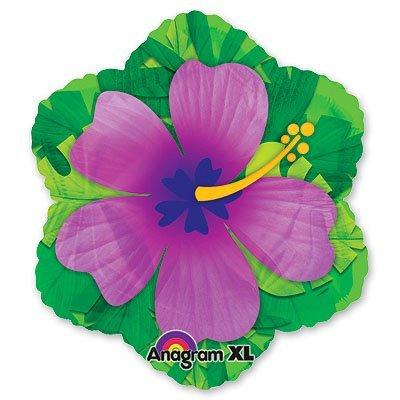 Шар фигура Гибискус фиолетовый 1207-0958