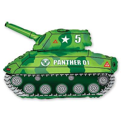 Шар фигура Танк зеленый 1207-1060