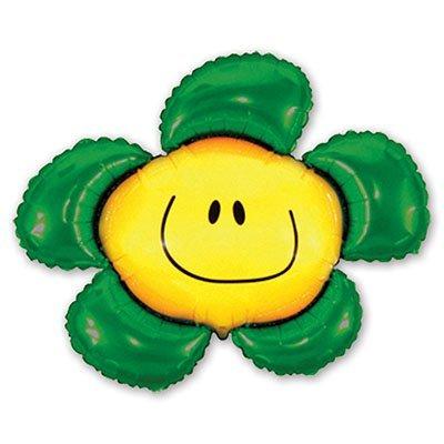 Шар фигура Цветок зеленый 1207-1061