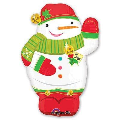 Шар-фигура Снеговик забавный 1207-1076