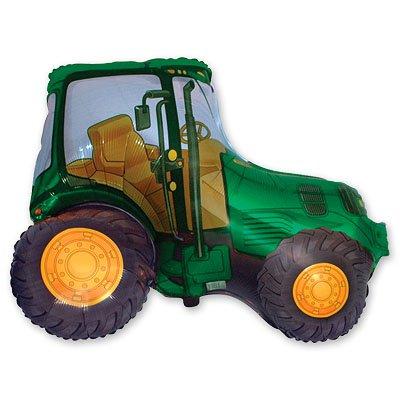 Шар фигура Трактор зеленый 1207-1134