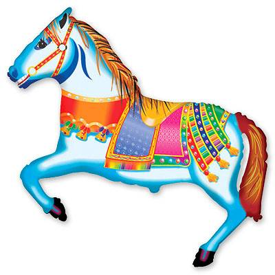 Шар фигура Лошадь цирковая 1207-1181