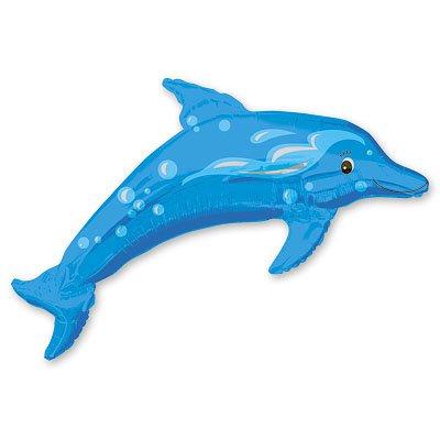 Шар фольга дельфин 1207-1301