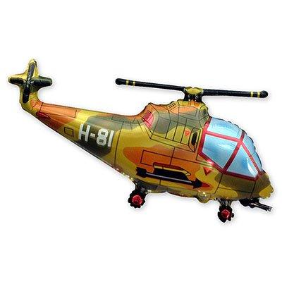Шар фигура Вертолет милитар 1207-1410