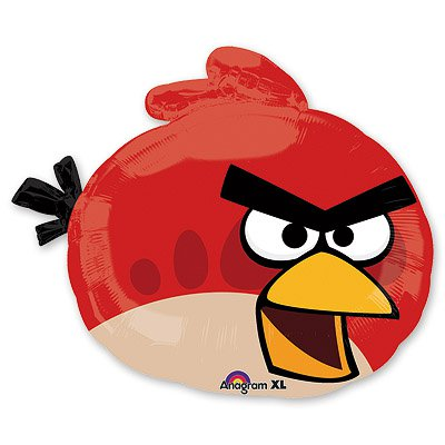 Фигура Angry Birds Красная Птица, 58 см 1207-1489