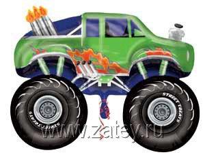 А ФИГУРА/V80 STREET Джип монстр зеленый 1207-1507