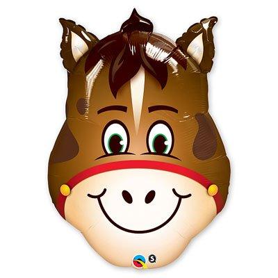 Шар-фигура Лошадь голова, 81 см 1207-1557