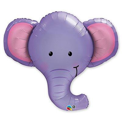 Шар фигура 6 Слоненок голова 1207-1602