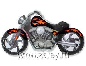 Ф ФИГУРА/11 Мотоцикл черный/FM 1207-1636