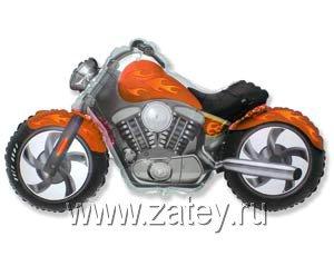 Ф ФИГУРА/11 Мотоцикл оранжевый/FM 1207-1637