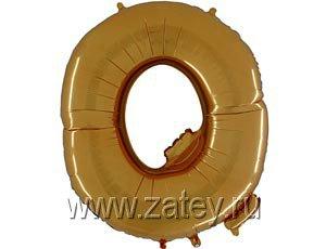 """Г БУКВА Q 40"""" Gold 1207-1667"""