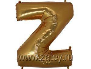 """Г БУКВА Z 40"""" Gold 1207-1676"""