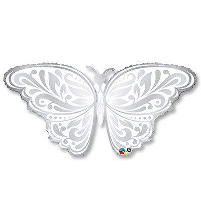Шар П ФИГУРА 6 Бабочка серебро 1207-1855